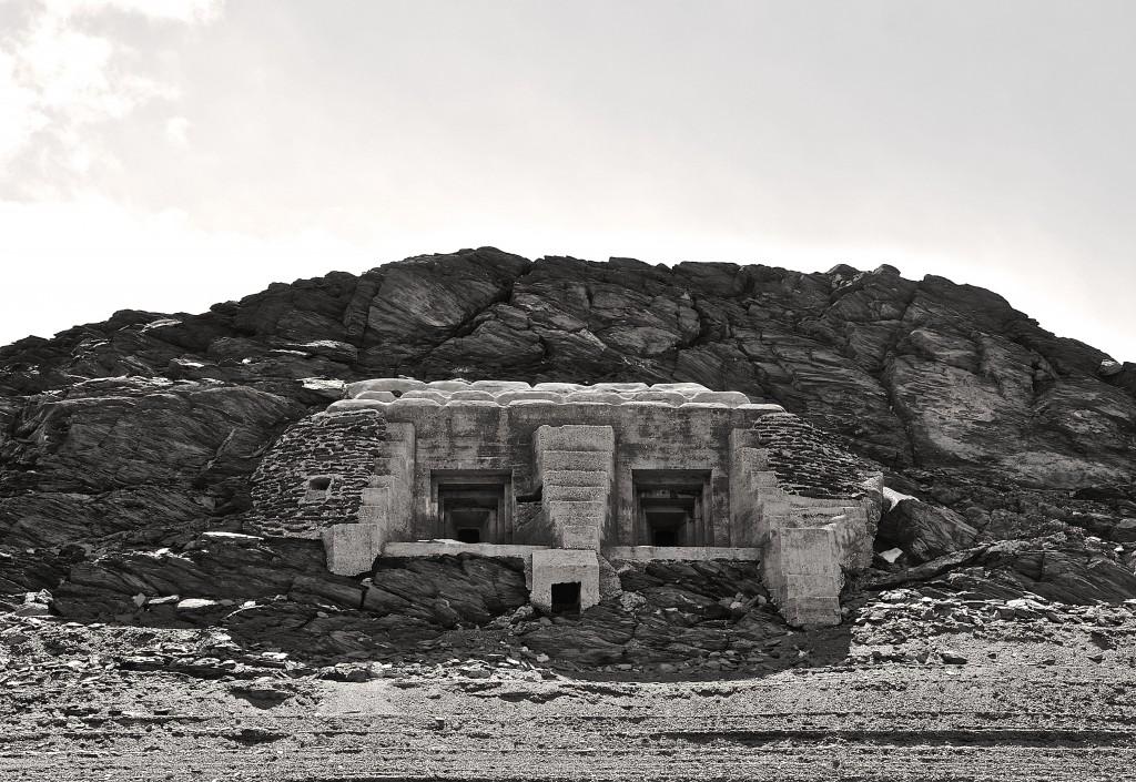 Blockhaus rocher