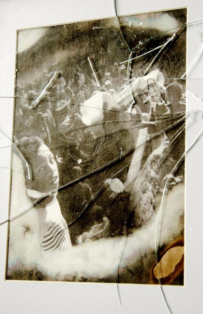 Exhumation cadre brisé